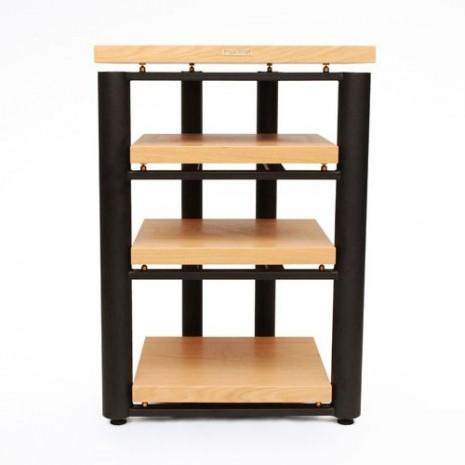 meuble rack hifi bois. Black Bedroom Furniture Sets. Home Design Ideas